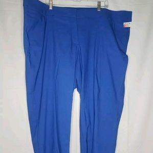 W Sz 28R, Lane Bryant Allie Blue Pants - J207